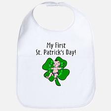 My First St Patrick's Day Bib