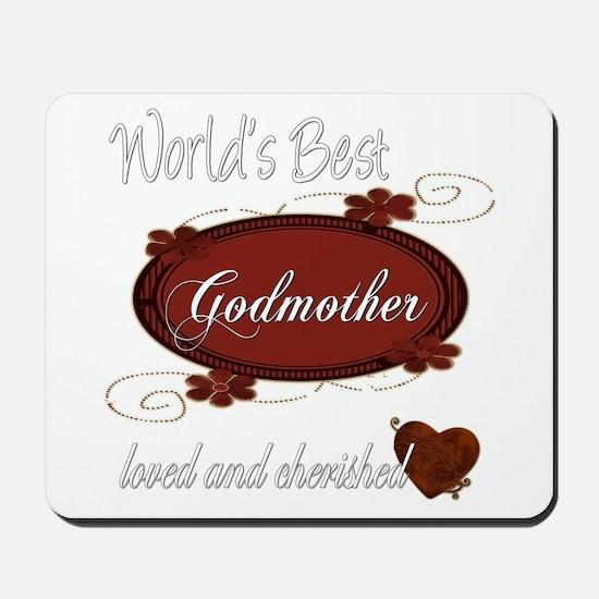 Cherished Godmother Mousepad