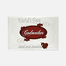 Cherished Godmother Rectangle Magnet (10 pack)