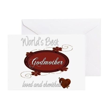 Cherished Godmother Greeting Card