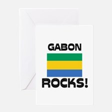 Gabon Rocks! Greeting Card