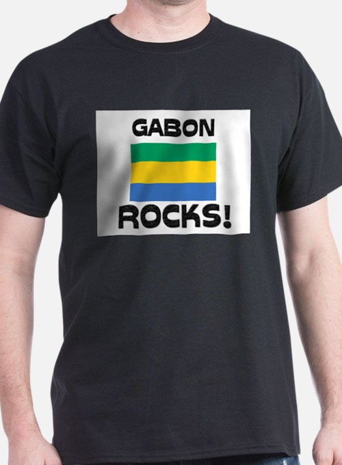 Gabon Rocks! T-Shirt