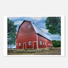 Farber barn Postcards (Package of 8)