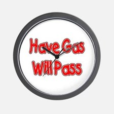 Have Gas, Will Pass Wall Clock