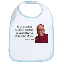 Dalai Lama 21 Bib