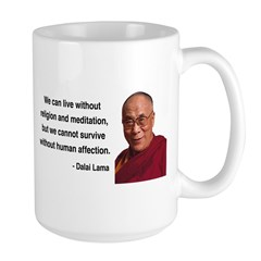 Dalai Lama 21 Large Mug
