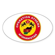 Operation Athena Oval Decal