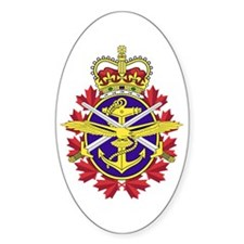 Canadian Forces Logo Decal
