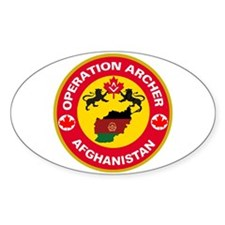 Operation Archer Oval Decal