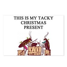 tacky christmas present Postcards (Package of 8)