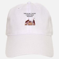 tacky christmas present Baseball Baseball Cap