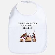 tacky christmas present Bib