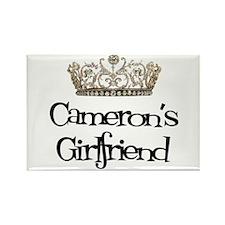 Cameron's Girlfriend Rectangle Magnet