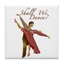 Shall We Dance? Tile Coaster