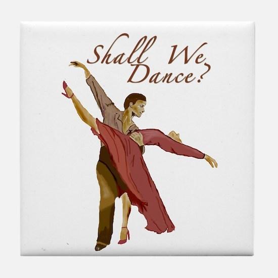 Shall We Dance? Tile Coaster