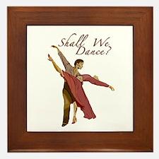 Shall We Dance? Framed Tile