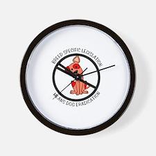 Anti-BSL Wall Clock