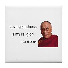 Dalai Lama 22 Tile Coaster