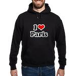 I love Paris Hoodie (dark)