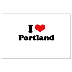I love Portland Posters