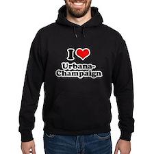 I love Urbana-Champaign Hoodie