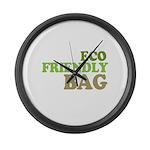 Eco Friendly Bag Large Wall Clock