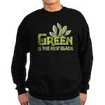 Green is the new black Sweatshirt (dark)