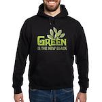 Green is the new black Hoodie (dark)