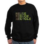 Reuse Reduce Recycle Sweatshirt (dark)