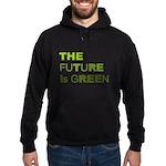 The Future is Green Hoodie (dark)