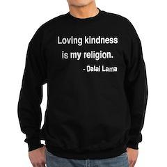 Dalai Lama 22 Sweatshirt (dark)