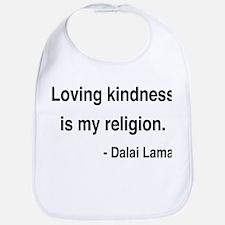 Dalai Lama 22 Bib