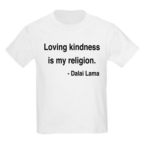 Dalai Lama 22 Kids Light T-Shirt