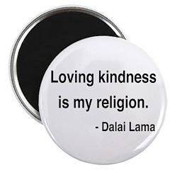 """Dalai Lama 22 2.25"""" Magnet (100 pack)"""