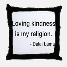 Dalai Lama 22 Throw Pillow