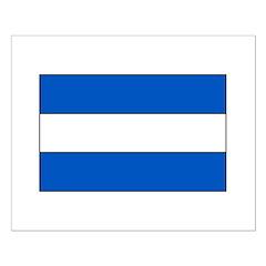 El Salvador Flag Posters