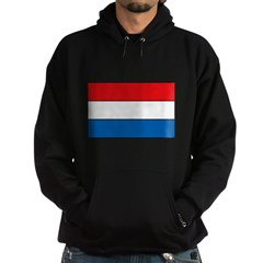 Luxembourg Flag Hoodie