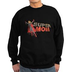 Super Mom / Mother's Day Sweatshirt (dark)