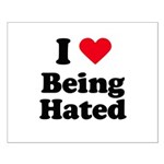 I love being hated Small Poster