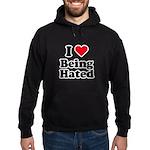 I love being hated Hoodie (dark)