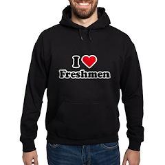 I Love Freshmen Hoodie
