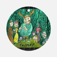 Falstaff Ornament (Round)
