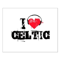 I love celtic Posters