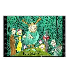 Falstaff Postcards (Package of 8)