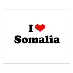 I love Somalia Posters