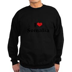I love Somalia Sweatshirt (dark)
