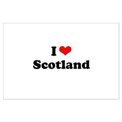 I love Scotland Posters