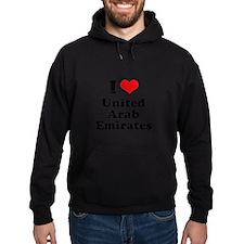 I love United Arab Emirates Hoodie