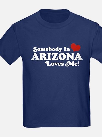 Somebody in Arizona Loves me T