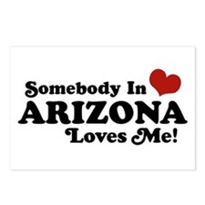 Somebody in Arizona Loves me Postcards (Package of
